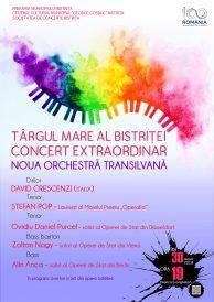 Concert extraordinat Noua Orchestră Transilvană – Târgul Mare al Bistriței