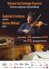 Vioara lui George Enescu la Bistrița