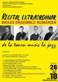 Recital Extraordinar BRASS ENSEMBLE RUMÄNIEN de la tourn music la jazz