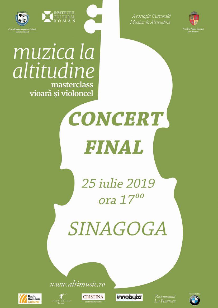 """Concert final """"Muzica la Altitudine"""""""
