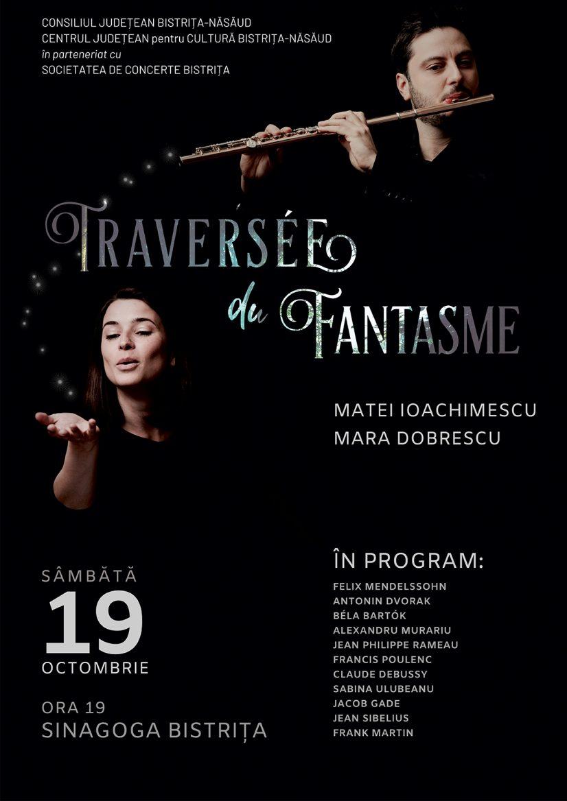 """Traversée du Fantasme"", un concert-eveniment cu Matei Ioachimescu și Mara Dobrescu"